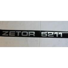 Zetor UR1 Schlepperbezeichnung Aufkleber 70115322 Ersatzteile » Agrapoint