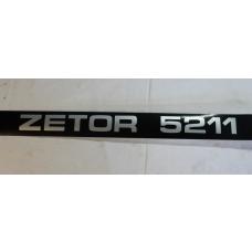 Zetor UR1 Schlepperbezeichnung Aufkleber 70115323 Ersatzteile » Agrapoint